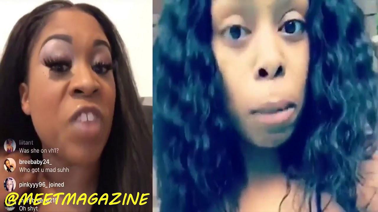 Shay Johnson Bootz Fight On Instagram Live Larissa And Shay Go Hard Lhhmiami Lhhmia Lhhm
