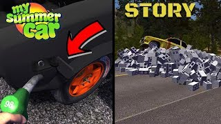 FUEL TANK DOOR - CINDER BLOCKS - My Summer Car Story #68 (Mod)