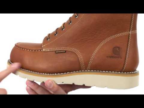 0d03e3ac914 Carhartt 6-Inch Steel Toe Waterproof Wedge Boot SKU:8843070 - YouTube