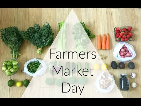 Zero Waste Shopping at the Farmers Market | VEDA