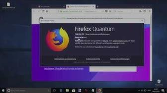 Firefox Update: So aktualisiert man den Browser!