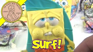 Spongebob Squarepants (#7 Windsurfer) 2012 Mcdonald's Happy Meal Olympic Sports - Video 8 Of 18