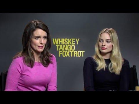 Whiskey Tango Foxtrot Interview - Tina Fey & Margot Robbie