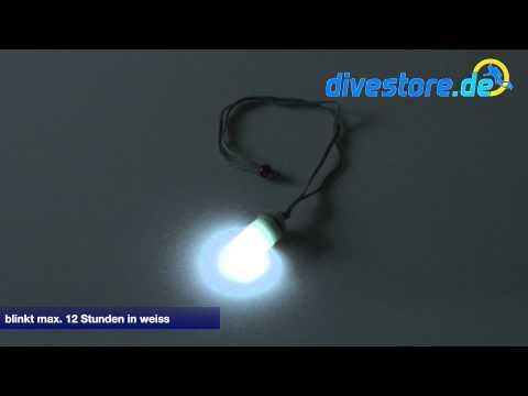 Scubapro Flashy LED Blitzer Mini LED Blitzer weißes Licht