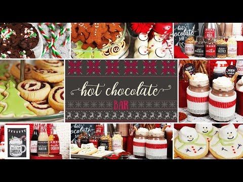 Hot Chocolate Bar | Holiday Party Ideas