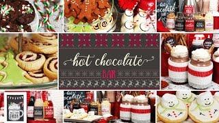 Hot Chocolate Bar   Holiday Party Ideas