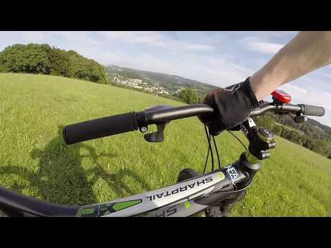Bulls Sharptail 1 Disc Review + Test (German) GoPro