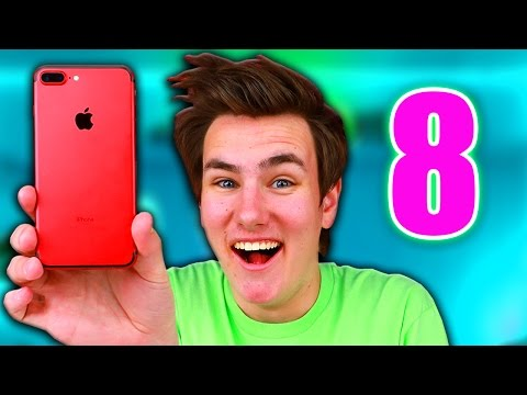 Thumbnail: The Red iPhone 8