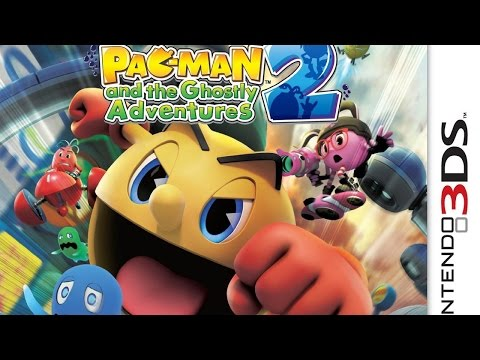 CGR Undertow - PAC-MAN AND THE GHOSTLY ADVENTURES 2 Review For Nintendo 3DS