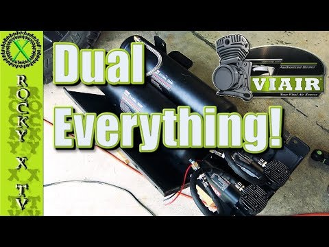 dual-viair-480c-compressors,-tanks-&-custom-jk-skid-plate,-project-dirty-willy-ep.34