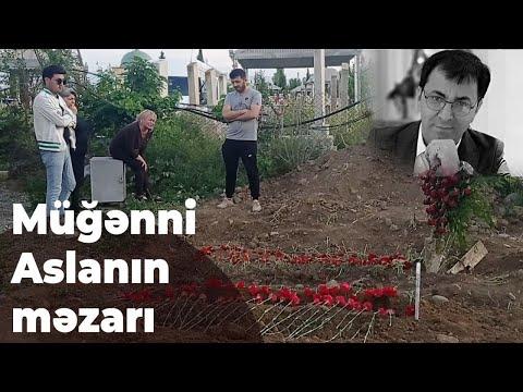 Müğənni Aslan Hüseynov Gəncədə anasının yanında dəfn olundu - Baku TV