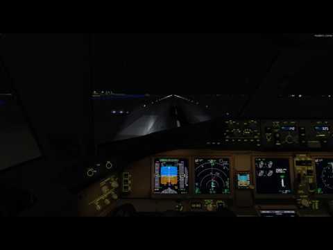 Landing Baghdad with B772
