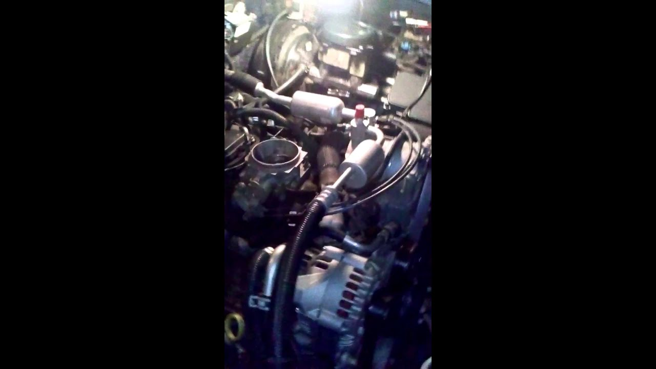99 Chevy suburban tune up/firing order 5.7 liter - YouTube