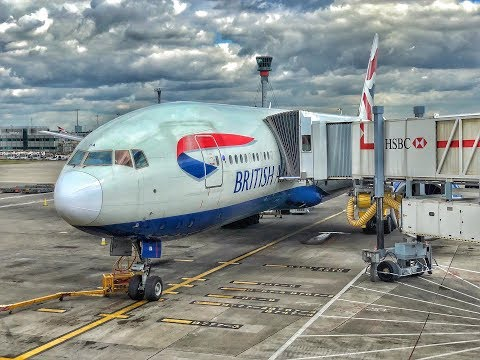 British Airways | Boeing 777-200ER | KWI-LHR | World Traveller