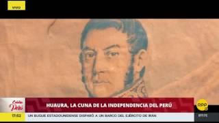 El balcón de Huaura, cuna de la Independencia del Perú