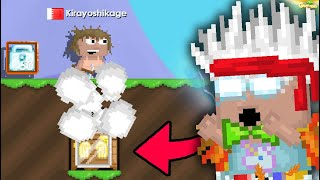 Would You Risk 100 WLs to WIN Golden Angel? | GrowTopia