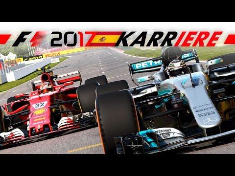 BRAKE-TEST in SPANIEN! – F1 2017 FERRARI SAISON #5 | Lets Play Formel 1 2017 Gameplay German Deutsch
