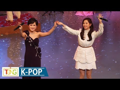 Girls' Generation(소녀시대) 서현, 北예술단과 함께 부른 '우리의 소원' (SEOHYUN, 북한, 현송월, 다시 만납시다, 평창올림픽)