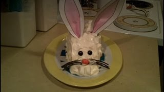 How to Make a Simple Easter Bunny Cake