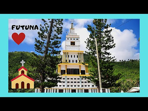 FUTUNA, the magnificent Catholic Churches (Wallis and Futuna