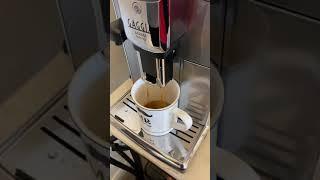 Espresso Shot Poorer on Gaggia…