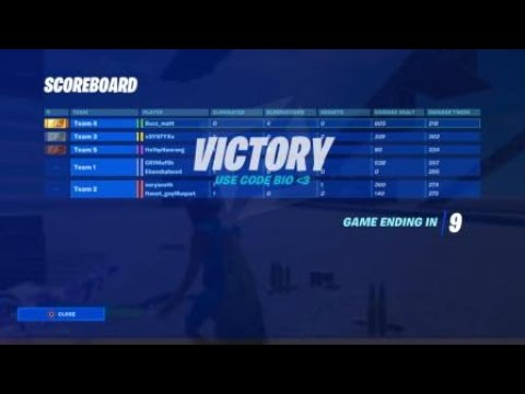 Solo-Duo Victory In Bios Zone Wars