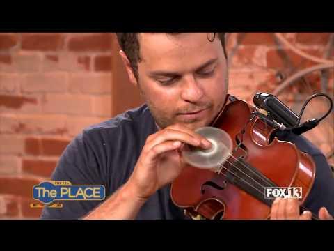 """FIDGET SPINNER Violinist Plays """"Shape of You"""" on Live TV"""