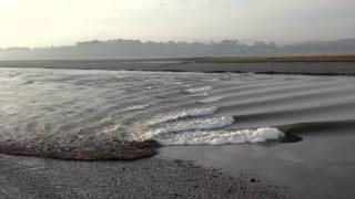 Tidal Bore on the Nith, Glencaple, Dumfries & Galloway 22 January 2015