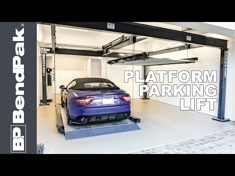 Double and Triple Wide Home Car Lifts by BendPak