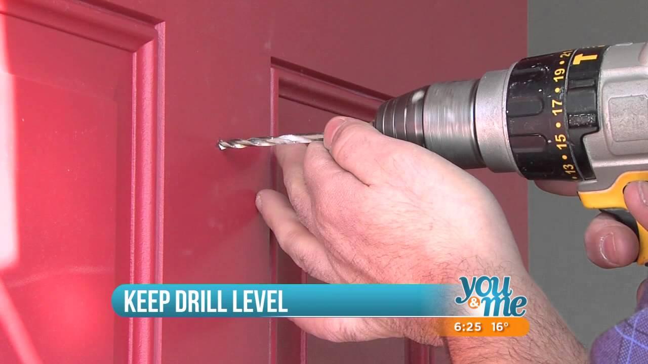 How To Install A Door Knocker