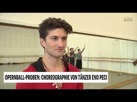 Opernball-Proben: Choreographie von Tänzer Eno Peci