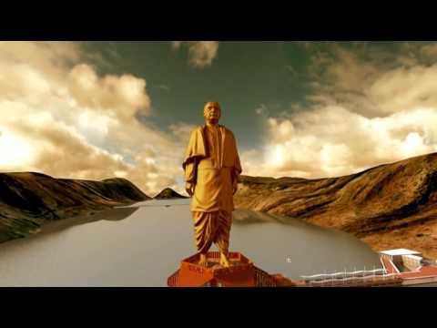A short film on  Statue of Unity  dedicated to Sardar Vallabh Bhai Patel (English)