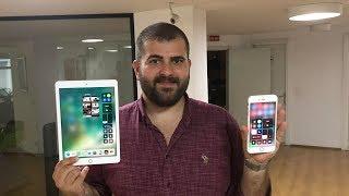 iOS 11'e geçilir mi? iPhone 6'da iOS 10.3 ile karşılaştırdık!