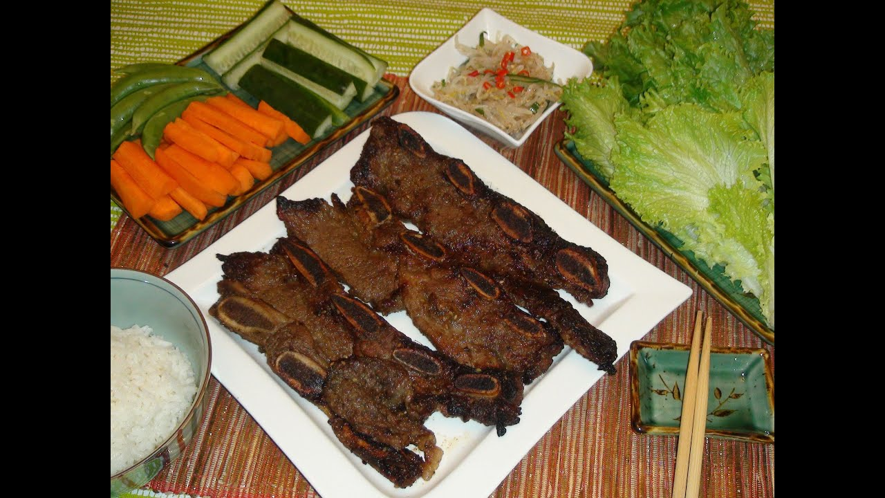 Best kalbi recipe ever short beef ribs korean barbecue youtube forumfinder Gallery