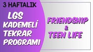 LGS Kademeli Tekrar Programı  Friendship \u0026 Teen Life