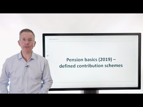 Pension Basics (2019) -  Defined Contribution Schemes