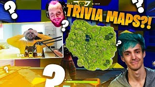 NINJA AND TIM TRIVIA MAPS?! (Fortnite: Battle Royale)