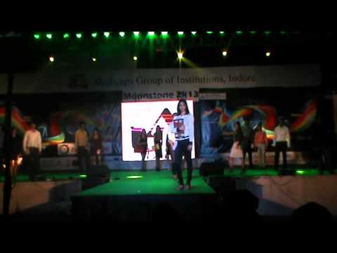 Fashion Show @ Moonstone 2k13,Medicaps Indore