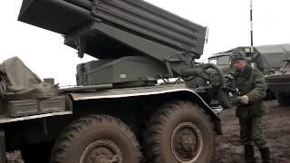 наводка БМ-21 ''Град'' на базі урал 4320(автоматично.)