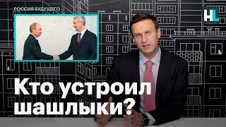 Навальный: кто устроил шашлыки?