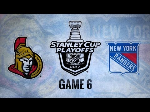 Ottawa Senators Vs. New York Rangers Game 6 | NHL Game Recap | May 9, 2017 | HD