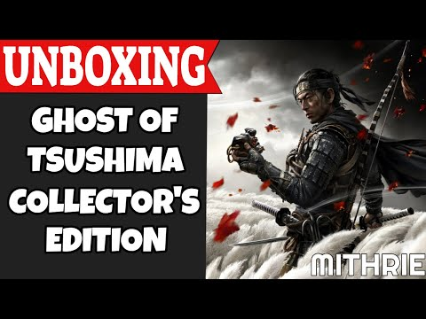 Ghost of Tsushima Collector's Edition Unboxing (PS4)