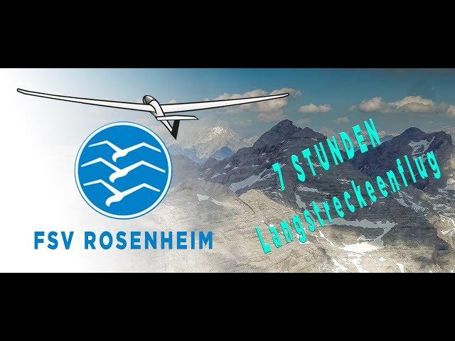 sieben Stunden - Streckenflug zur Zugspitze