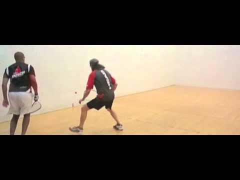 John Heintschel vs Kamyron Meeks - Racquetball