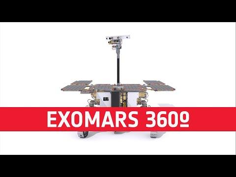 ExoMars Rosalind Franklin rover 360º
