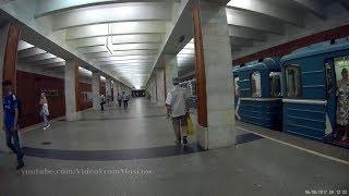 станция метро Тёплый Стан 06.08.2017