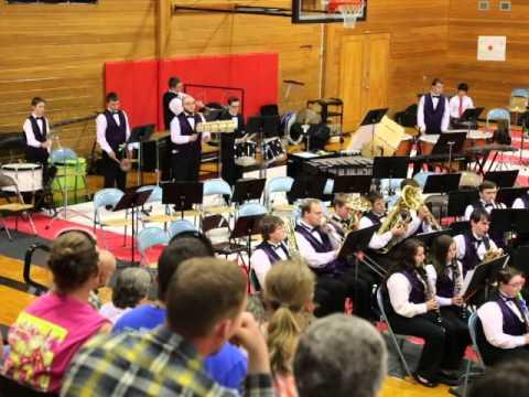 Onalaska Band playing Mekong by Robert W. Smith