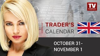 InstaForex tv news: Traders' calendar for October 31 – November 1: USD faces downward risks (USD, EUR, AUD)