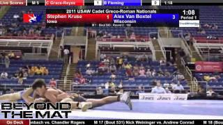 Cadet Greco 152 - Alex Van Boxtel (WI) vs. Stephen Kruse (IA)