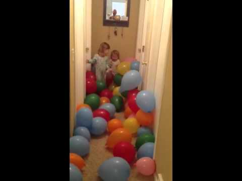 Girls and Balloons